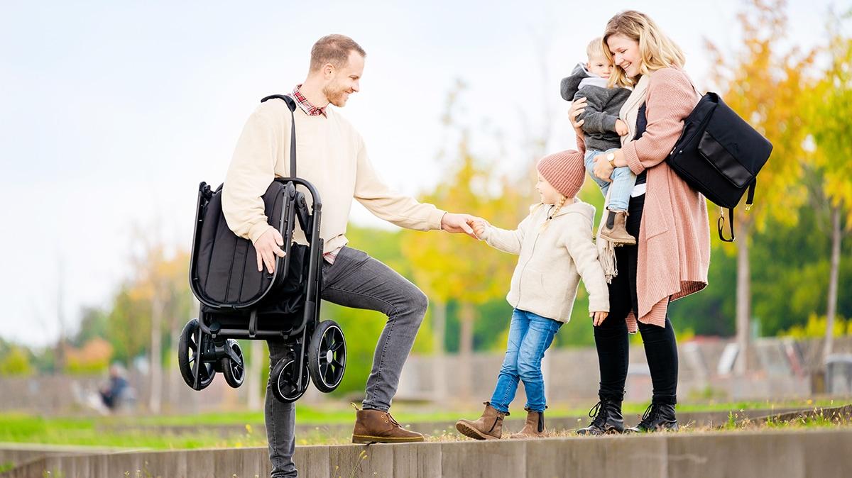 Beqooni Kinderwagen Familie